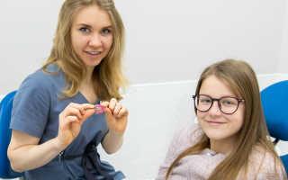 Исправление прикуса у подростков