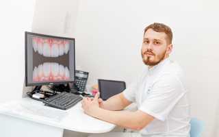 Качественная реставрация переднего зуба
