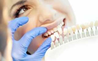 Реставрация зуба и ламинирование