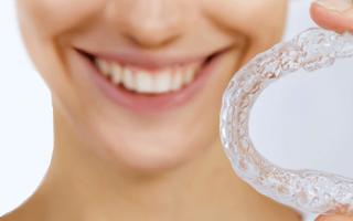 Капы для выравнивания зубов запорожье